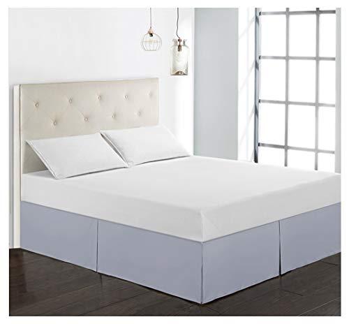 baratos y buenos Cubierta de canapé GUOCU para marcos de cama-Faldón de cama de poliéster y microfibra-Durable, suave, … calidad
