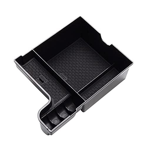 MINGRUI FangH Caja de Almacenamiento del reposabrazos del automóvil Soporte Central de la Consola FIT para Lexus ES ES200 ES260 ES300H 2020 (Color : Black)