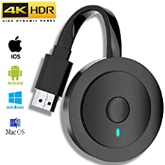 🎄【4K Resolution & 3D Vision】MPIO Wireless display adapter supports video resolution up to 4K(3840 X 2160) , it's compatible with more resolutions(1080P full HD/720P), mirroring video and audio fast. You could share more realistic movies with family/f...