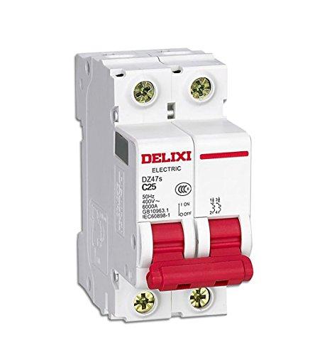 Interruptor Automatico Magnetotermico 6A 10A 16A 25A 40A 2P (40A)