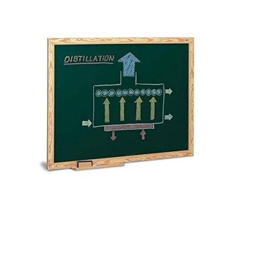 Pizarra verde lacada Faibo 90x120cm marco de madera 🔥