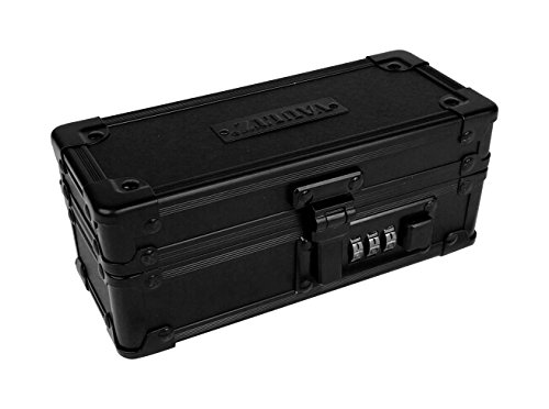 VaporVaultz Padded Mod Box, 2.7 x 6.5 x 2.68 inches, Black (VZ00847)