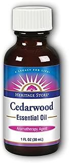 Heritage Store Heritage Store Essential Oil, Cedarwood, 1 Fluid Ounce
