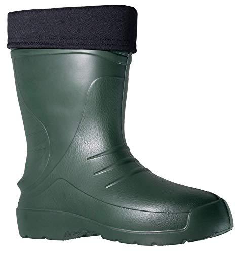 Fagum Stomil Hombre Botas de Lluvia - Botas Impermeables cálidas con Forro Polar - Zapatos de jardín Antideslizantes - Tamaño 44 EU