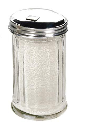 Toysdone Glass Sugar Dispenser Pourer Shaker