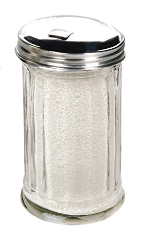 Glass Sugar Dispenser Pourer Shaker