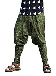 Aethon Creations Unisex Light Weight Unique Style Cotton Printed Harem Pant