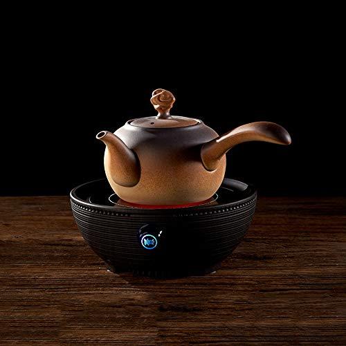 CC-Ceramic Kettle Keramik Teekanne Kung Fu Wasserkocher Träger Rough Pottery Teekanne Tontopf Elektrische Keramik Herd Tee Herd Kleine Tee Herd Kleine 11 * 18 * 17 cm / 800L