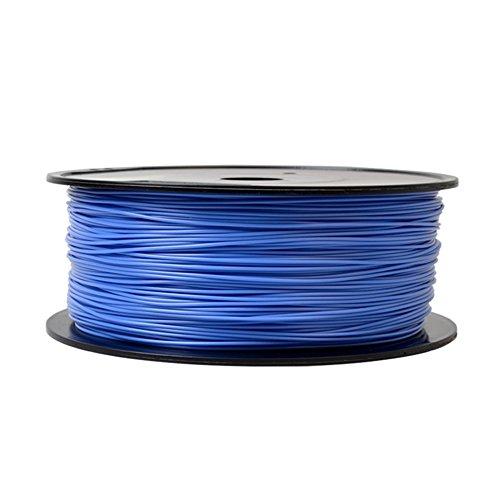 Firstcom - Filamento PLA (rotolo da 1 kg) per stampante 3D MakerBot RepRap Ultimaker, ecc. blau 1.75mm