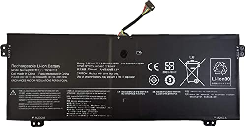 7XINbox 7.68V 6080mAh 48Wh L16C4PB1 L16L4PB1 L16M4PB1 5B10M52739 2ICP4/43/110-2 Batteria di ricambio per Lenovo YOGA 720-13IKB 730-13IKB Series