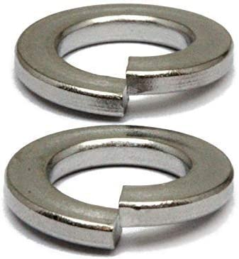 6mm  Metric Steel Split Lock Washers with Black Oxide Coating  DIN 127B M6