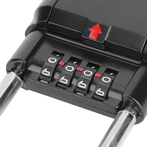 hong Caja para Llaves, Exquisita Caja para Guardar Llaves, para fábricas, oficinas, familias, Empresas(Black)
