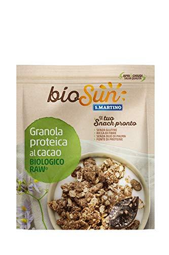 S.Martino Biosun, Granola Proteica al Cacao Biologico - 250 Gr