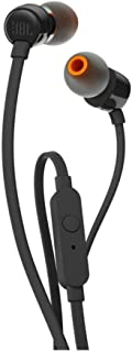 JBL In-Ear Headphones, Black, T110