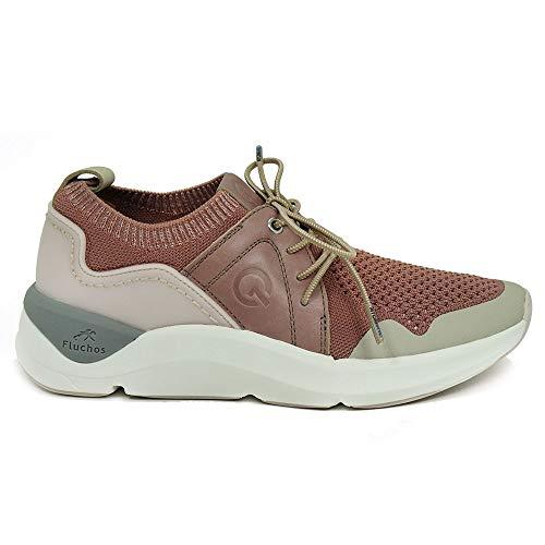 Zapatos FLUCHOS F0879 SEÑORA Rosa
