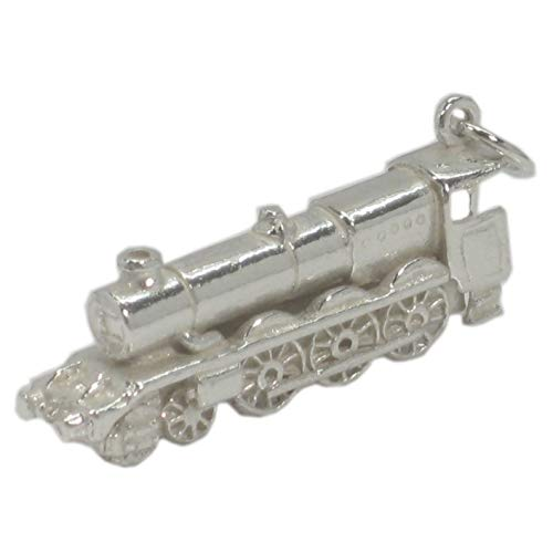 Eisenbahn Lokomotive strlng Silber 925, Train x1 Eisenbahn Lokomotive Charms BJ2043
