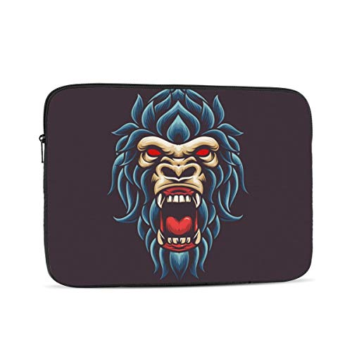 Gorilla Head Laptop Sleeve Bag Compatible with 10-17 Inch Fashion Computer Bag Laptop Case