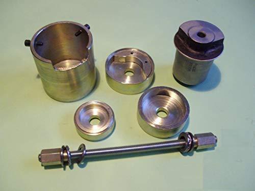 DR TOOLS Montagewerkzeug für Opel Astra G Zafira A Corsa C Combo Hinterachsbuchsenentferner.