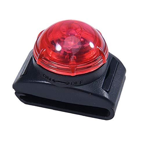 fedsjuihyg Collar De Perro De Luz Led para Mascotas Colgante Lámpara De Seguridad Advertencia Pequeño Clip De Luz para El Collar De Correo del Arnés Rojo Accesorios para Mascotas