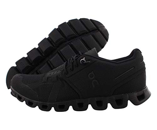 ON Running Womens Cloud Textile Synthetic Trainers (8.5, All Black)