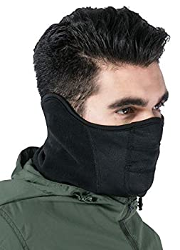 Winter Face Mask & Neck Gaiter - Cold Weather Half Balaclava - Tactical Neck Warmer for Men & Women - Face Cover / Shield