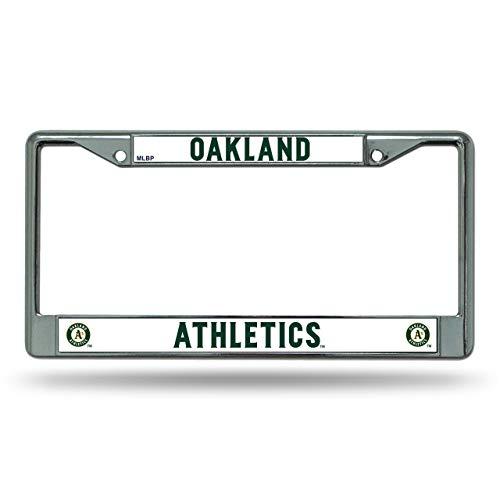 MLB Oakland Athletics Chrome License Plate Frame