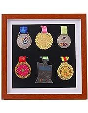 JX Factory directe grote militaire medaille vitrine, militaire medaille opbergdoos, badge teken, medaille vitrine, medaille frame, medaille display, militaire trofee opbergdoos (massief hout)