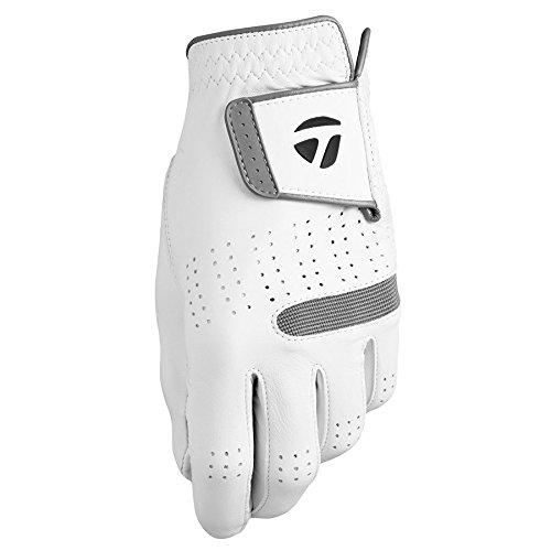 TaylorMade 2018 Tour Preferred Flex Men's Golf Glove, White,