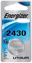 2 Pack Energizer ECR2430BP Lithium 3-Volt Coin Cell Battery