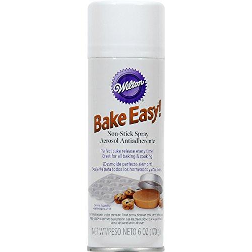 Wilton Bake Easy Non-Stick Spray-6 Ounces (3-Pack)