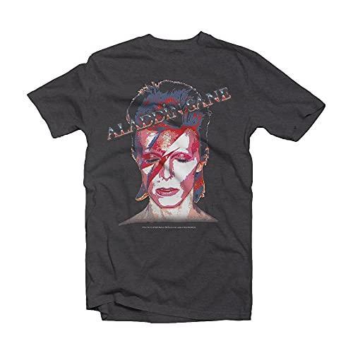 David Bowie Aladdin Sane Amplified Vintage M Charcoal [Vinyl LP]