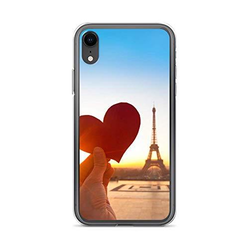 Handyhülle Erimitage Seine kompatibel für iPhone X/Xs Eifelturm Herz Schutz Hülle Hülle Bumper transparent r& um Schutz Cartoon M1