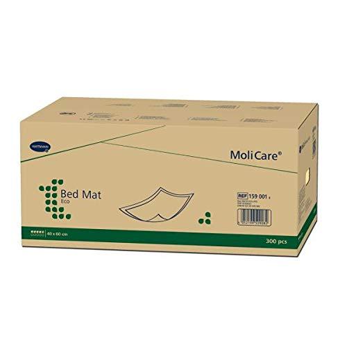 Inkontinenz-Unterlage Hartmann Moli Care Bed Mat Eco 7 Tropfen 40 cm x 60 cm, 100 Stück