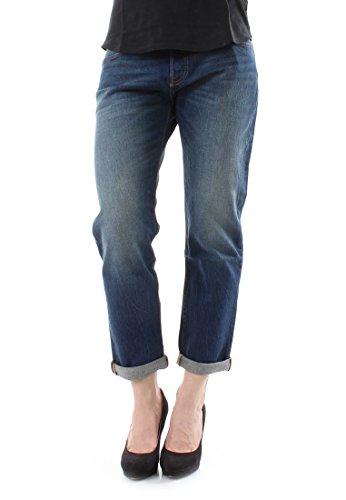 Levi's 501 Ct, Jeans Mujer, Azul (Roasted Indigo), W30/L34 (Talla del fabricante: 30)