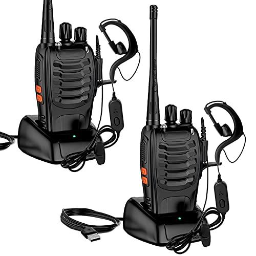 StillCool Walkie Talkie Profesionales Recargable Dispositivo de Radio BF-888S 1500 mAh 16...