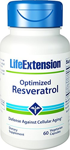 Combo 2x Optimized Resveratrol 250mg 60 Caps Life Extension