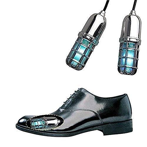 JIEZ Secador de Zapatos Calentador de Botas eléctrico, Calentador de pies para Guantes Calcetines, Secado de Calzado portátil de esquí, con Desodorante y Desodorante de ozono