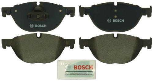 Bosch BP1409 QuietCast Premium Semi-Metallic Disc Brake Pad Set For Select Bentley Arnage; BMW (i, GT, Ld, Li, xDrive), 528, 535, 550, 650, 740, 750, ActiveHybrid; Rolls-Royce + More; Front