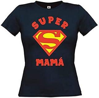 camisetas divertidas Super Mama - para Mujer Camiseta LA