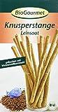 BioGourmet Knusperstange mit Leinsaat, 8er Pack (8 x 100 g) - Bio -