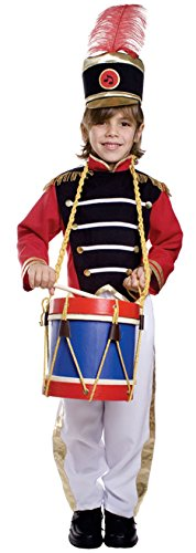 Dress Up America Trommel-Major Kinderkostüm
