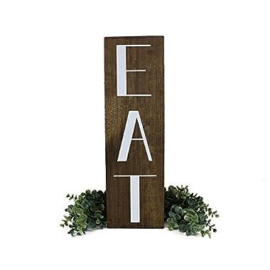 Kitchen EAT sign Farmhouse Decor