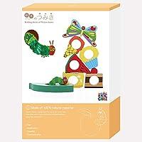 絵本のつみき はらぺこあおむし プレイセット 木製 積み木 おもちゃ 知育玩具 TM-AOM-0301