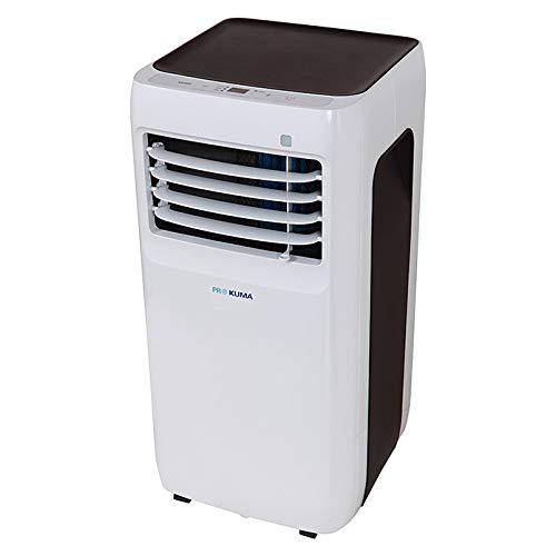 Proklima - Mobiles Klimagerät - Klimaanlage - 3 in 1-7.000 BTU/h / 2050 W - 24 h Timer und Sleep-Mode-Funktion - LED-Display - Kühlen - Entfeuchten - Ventilieren