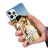 CuteCases Clear Housse pour Huawei P20 Pro Coque de Téléphone Personnalisée avec Photo...