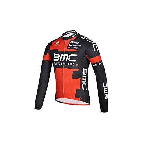 Strgao 2016 Herren Winter Radtrikot Pro Team BMC MTB Thermal Langarm Radjacke Radfahren Oberteil