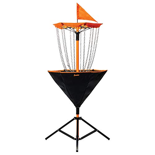 Franklin Sports Disc Golf Target - Portable - Sturdy Metal Chains - Carry Bag Included