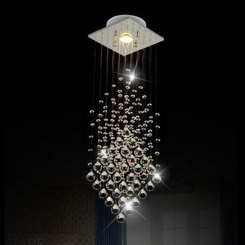Surpars House - Lámpara de techo con 1 bombilla LED GU10 de 3 W
