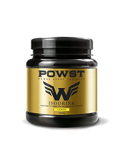 POWST Isotonic Drink Powder with electrolytes with minerals, Lemon 600g.
