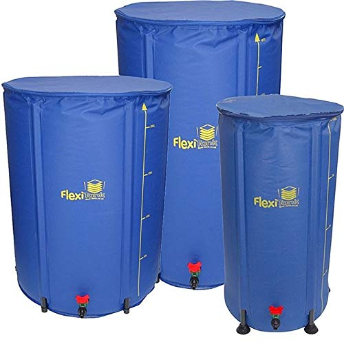 Autopot Flexi Tank Collapsible Fold Up Compact Hydroponics Grow Water Butt Storage (100 Litre)